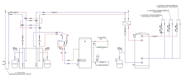 Схема строительство азс